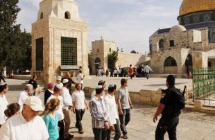 مستوطنون-يقتحمون-الأقصى-في-حراسة-الشرطة-الإسرائيلية