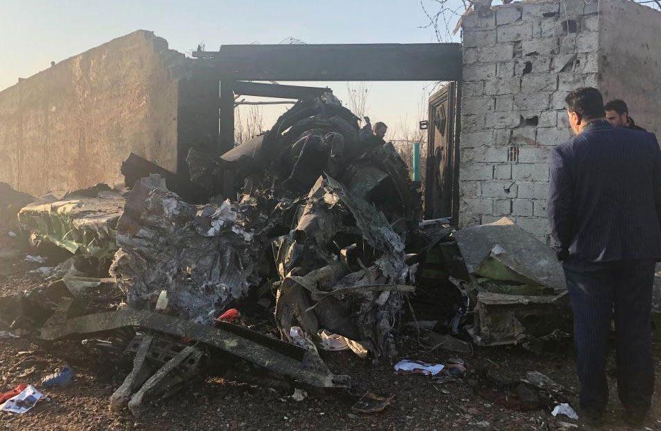 مصرع-170-شخصاً-على-الأقلّ-في-تحطّم-طائرة-ركاب-أوكرانية-في-طهران