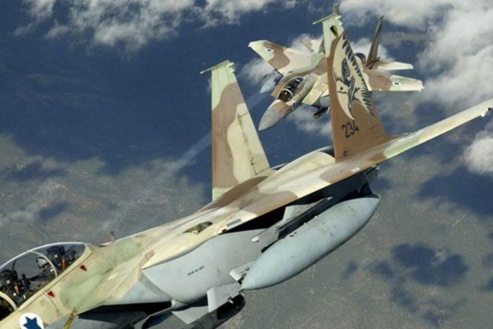 مقاتلات-إسرائيلية-تشن-غارات-على-موقعين-لحماس-بغزة