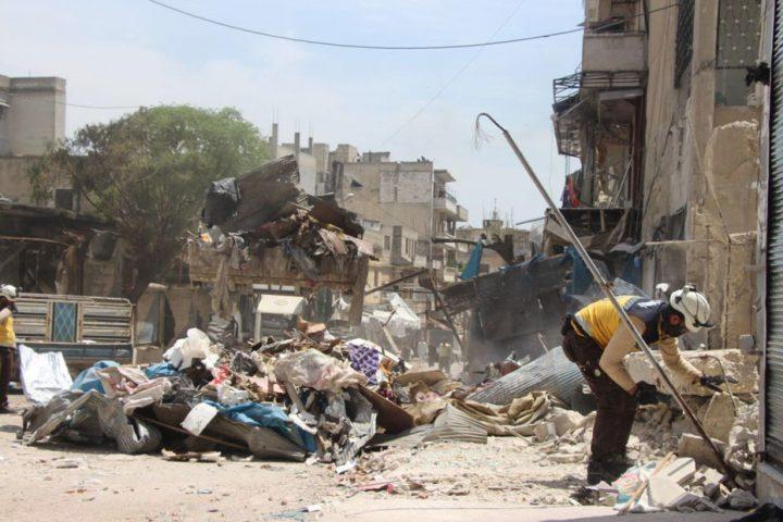 مقتل-17-مدنيًا-في-غارات-لنظام-الأسد-على-إدلب