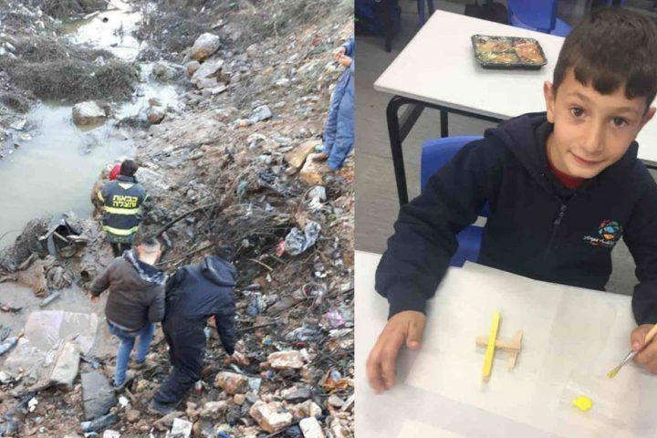 وفاة-الطفل-أبو-رميلة-بعد-العثور-عليه-في-مجمع-لمياه-الأمطار-بالقدس