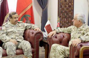 وفد-قطري-عسكري-في-الأردن-لبحث-آخر-التطورات-الإقليمية-والدولية