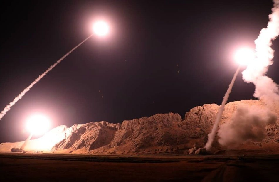22-صاروخًا-سقطوا-على-مقرات-التحالف-الدولي-بالعراق