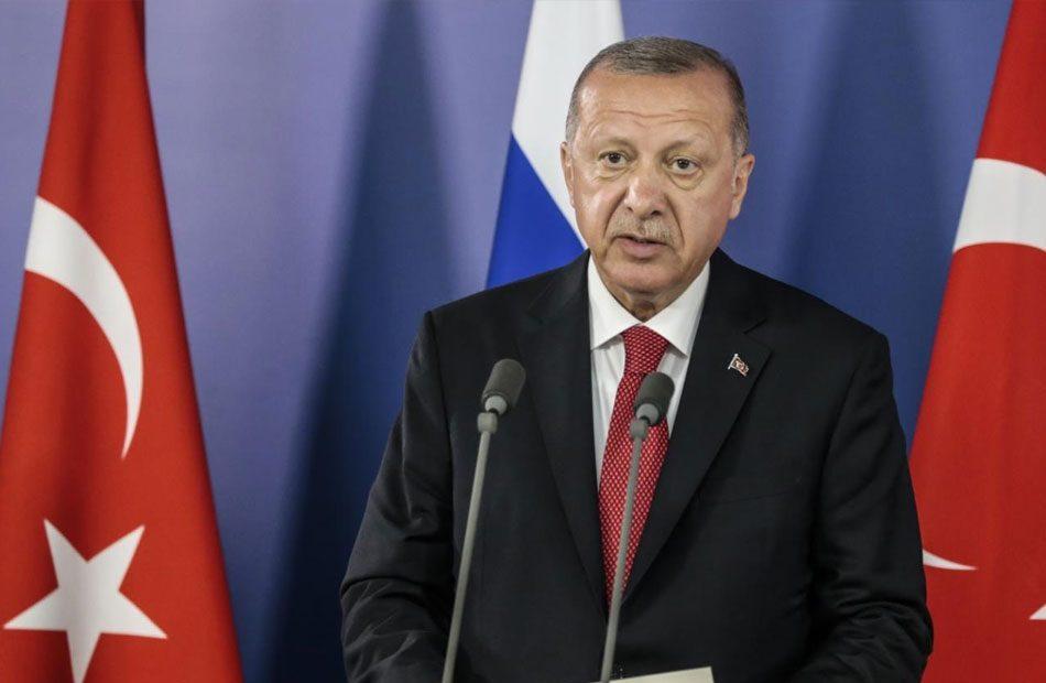 أردوغان-يلتقي-هنية-بالمكتب-الرئاسي-بقصر-وحيد-الدين--في-إسطنبول