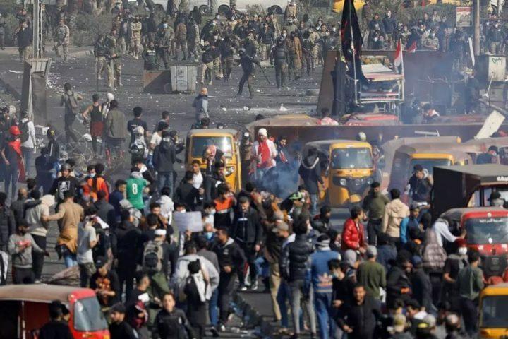 إدانة-أممية-شديدة-لقمع-المتظاهرين-في-النجف