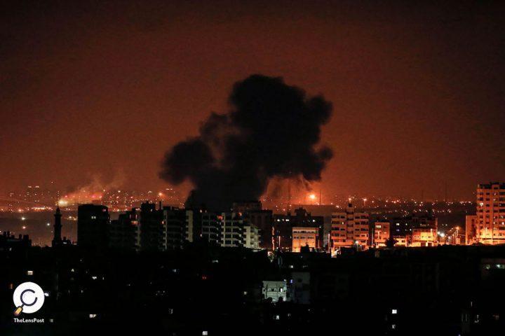 إسرائيل-تشن-غارات-جوية-على-قطاع-غزة
