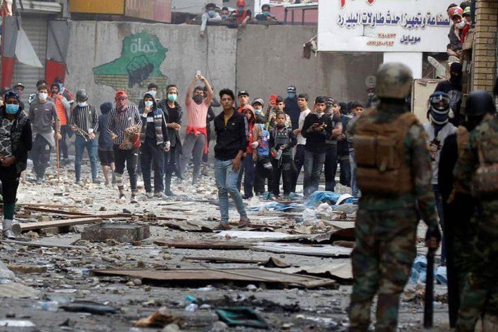 ارتفاع-قتلى-الاحتجاجات-في-محافظة-النجف-إلى-11-شخصا-و122-جريحا