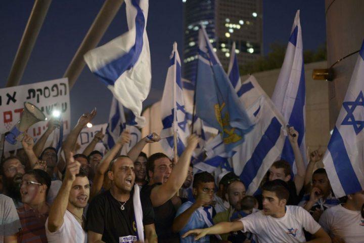 تظاهرات-إسرائيلية-مطالبة-بفرض-السيادة-على-مستوطنات-الضفة