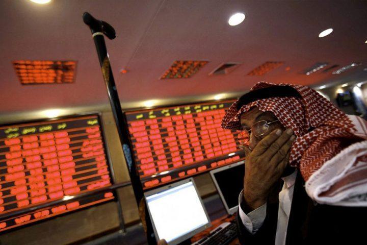 البورصة-السعودية-تتأثر-بأنباء-اعتقال-أمراء-وتهبط-6.5%