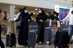 بالفيديو..-غضب-واسع-لتكدس-المئات-بمطار-دبي-انتظارا-لفحص-كورونا