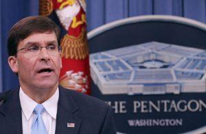 وزير الدفاع الأمريكي يعزل نفسه وموظفيه عن نائبه خوفًا من كورونا