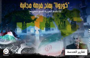 """""""كورونا"""" يمنح فرصة مجانية للأنظمة العربية لقمع شعوبها"""