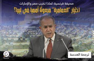 """صحيفة فرنسية: لماذا تخرب مصر والإمارات اختيار """"العمامرة"""" مبعوثا أمميا في ليبيا؟"""