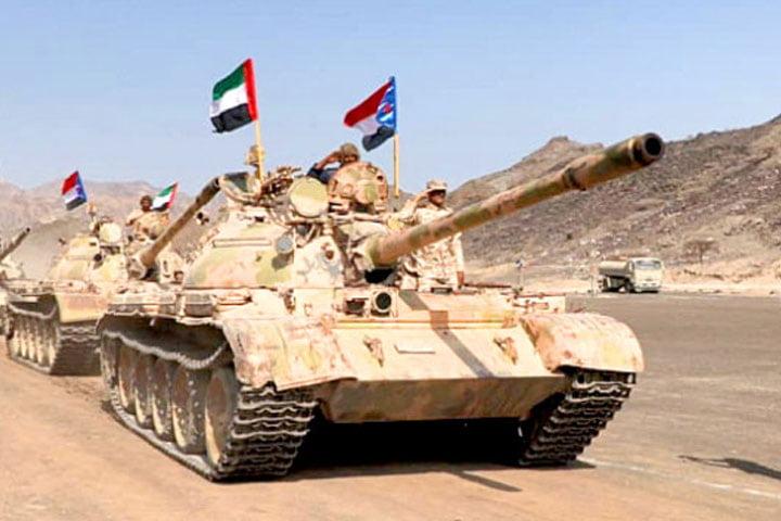 الإمارات تدعم انقلاب اليمن