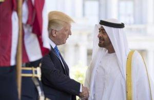 ترامب-يطالب-بن-زايد-باتخاذ-خطوات-لحل-الأزمة-الخليجية