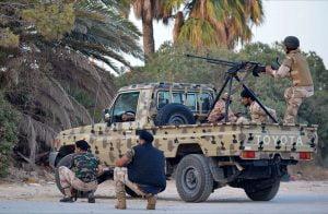 """قوات """"الوفاق"""" تكبد حفتر خسائر فادحة وتسقط 3 من طائراته قرب مصراتة"""