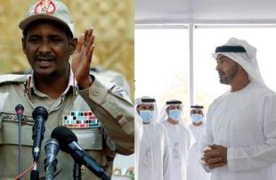 الإمارات تستنجد بـ حميدتي لإرسال 1200 من المرتزقة السودانيين لدعم حفتر