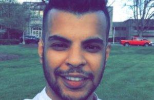 """الناشط السعودي """"عبد الرحمن المطيري"""" يوثق لحظة اعتقاله من الشرطة الأمريكية (فيديو)"""
