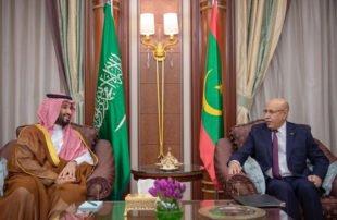 بن-سلمان-يدعو-رئيس-موريتانيا-للتواصل-مع-نتنياهو