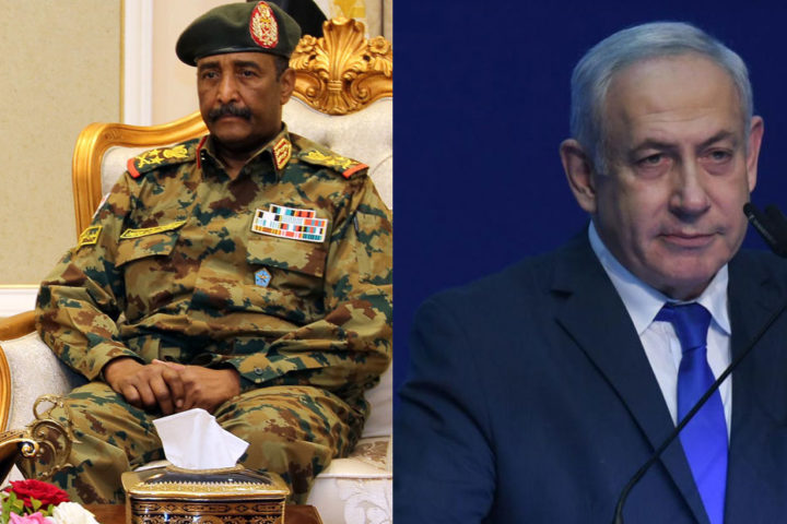 إسرائيل تعلن رسميًا بحث نتنياهو مع البرهان تعزيز علاقاتها مع السودان