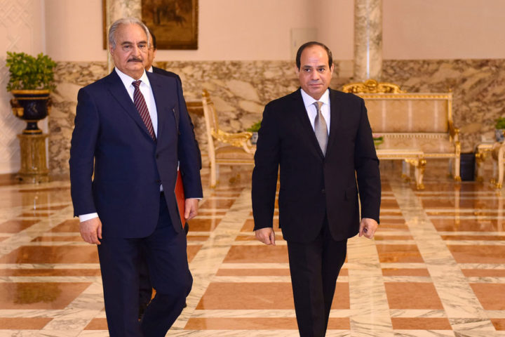 السيسي وحفتر يطلقان مبادرة للتسوية .. والوفاق ترد: لم نبدأ الحرب لكننا من يحدد نهايتها