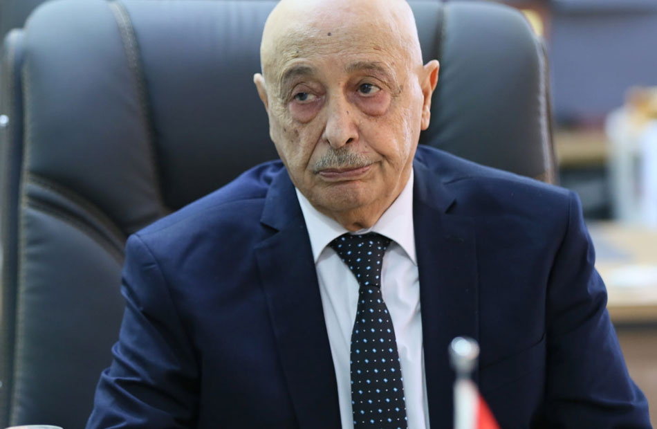 عقيلة صالح يهدد: سنطلب من مصر التدخل بليبيا في هذه الحالة!
