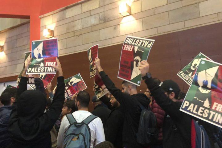 بعد احتجاجات طلابية .. إلغاء استضافة محاضر إسرائيلي بالجامعة الأمريكية