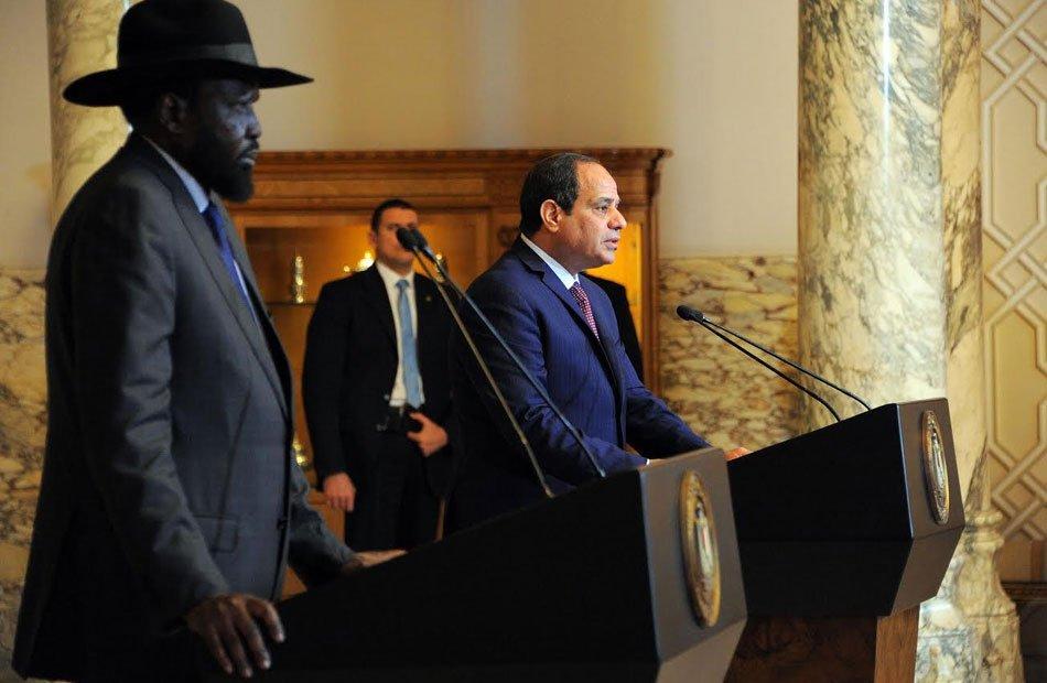 مصر تنشئ قاعدة عسكرية في جنوب السودان .. هل تقصف سد النهضة؟