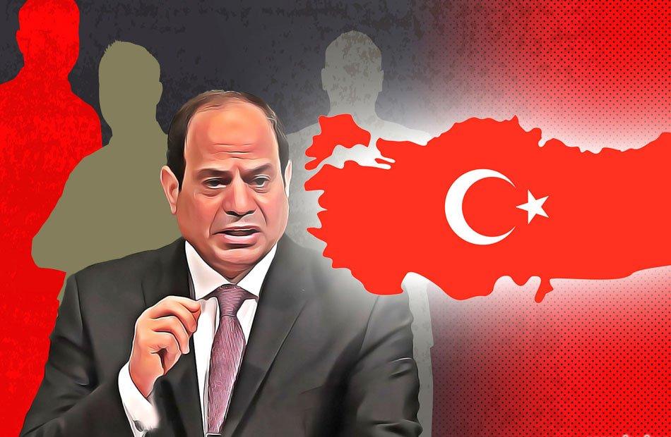 تركيا ترد على تصريحات السيسي: مجرد أداة بيد فرنسا والإمارات وطمعه بنفط ليبيا