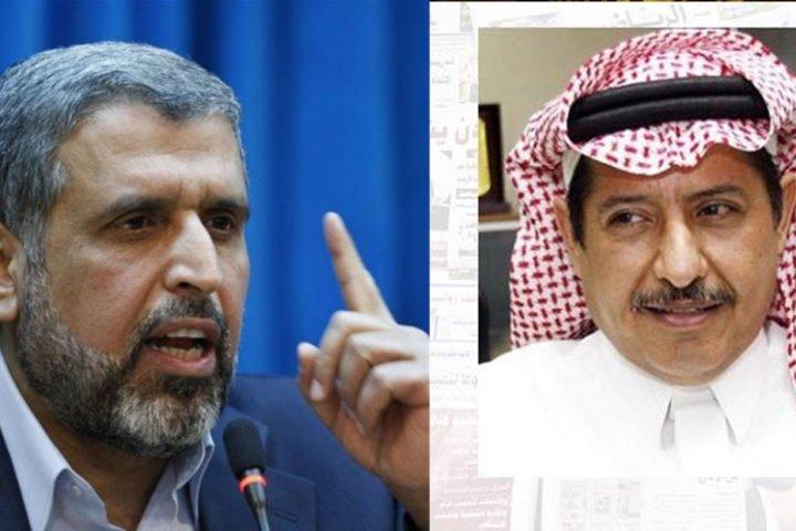 كاتب سعودي مقرب من الديوان الملكي يشمت في وفاة القيادي الفلسطيني رمضان شلح