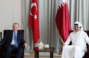 بعد زيارة أردوغان .. قطر تأمل تعزيز علاقاتها الاستراتيجية مع تركيا لمصلحة الشعبين الشقيقين