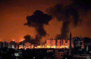 بعد ساعات من صافرات إنذار بالمستوطنات..إسرائيل تقصف أهدافا شرقي غزة