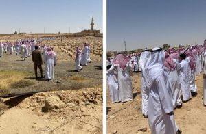 تشييع جثمان الصحفي السعودي المعارض صالح الشيحي