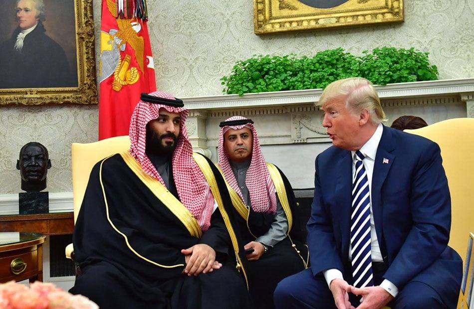 ترامب يحرج بن سلمان ويؤكد أن السعودية ستبرم اتفاق تطبيع مع إسرائيل