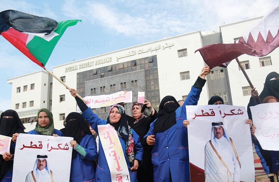 قطر تواصل جهودها المكثفة لاحتواء التصعيد الإسرائيلي في قطاع غزة