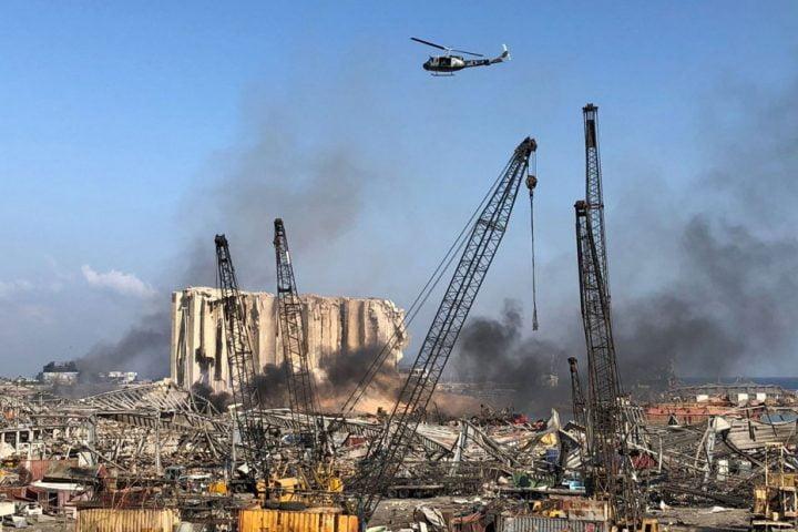 قطر تعلن تضامنها مع لبنان وتسيّر جسرا جويا لإغاثة ضحايا الانفجار الرهيب