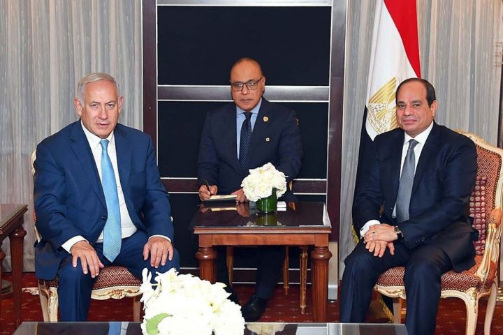 السيسي يهاتف نتنياهو ويجدد تأييده لاتفاق العار بين الإمارات وإسرائيل