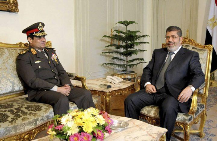 السيسي يواصل التنكيل بأسرة مرسي ويشطب نجله من نقابة المحامين