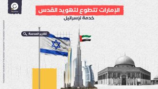 الإمارات تتطوع لتهويد القدس ودعم الاستيطان خدمة لإسرائيل