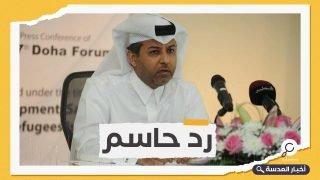 """قطر تحرج قرقاش: كفى جعجعة أيها """"المنظر العظيم"""""""