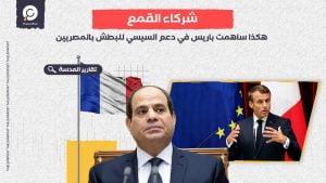"""""""قمع صنع في فرنسا"""".. هكذا ساهمت باريس في دعم السيسي للبطش بالمصريين"""