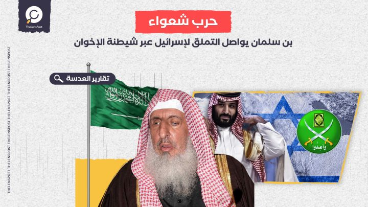 حرب الأبواق الإعلامية .. بن سلمان يواصل التملق لإسرائيل عبر شيطنة الإخوان