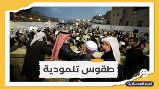 فيديو.. إماراتيون وبحرينيون يحتفون بإضاءة شمعدان حانوكا اليهودي
