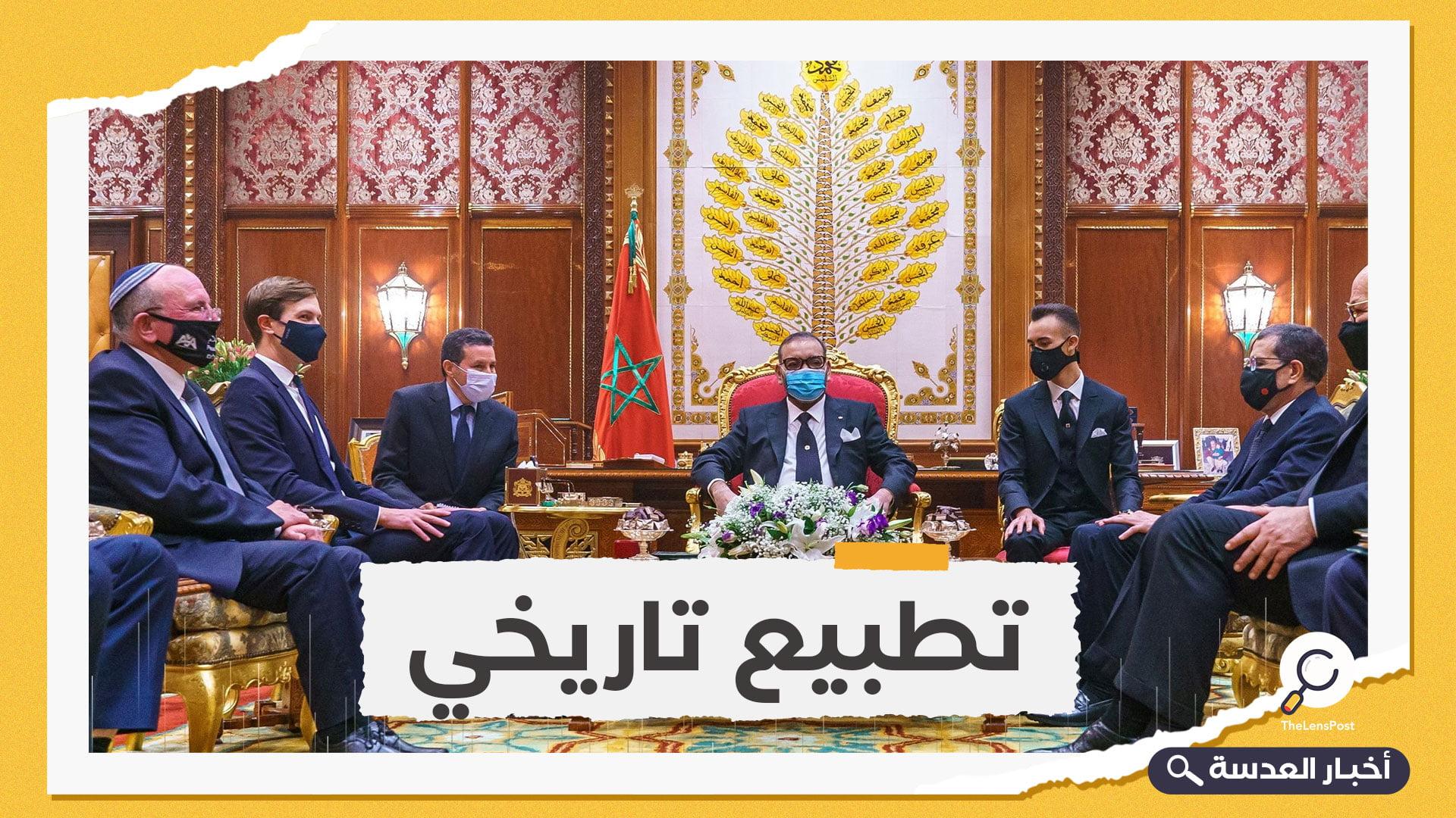 مفاجأة جديدة.. مباحثات التطبيع المغربي بدأت في 2018 بأوامر الملك