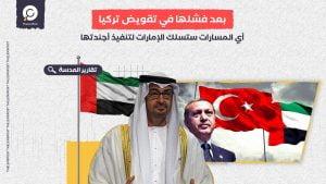 تحليل: بعد فشلها في تقويض تركيا... أي المسارات ستسلك الإمارات لتنفيذ أجندتها؟