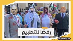 عرب بريطانيا يؤكدون رفضهم للتطبيع مع الاحتلال وخيانة فلسطين
