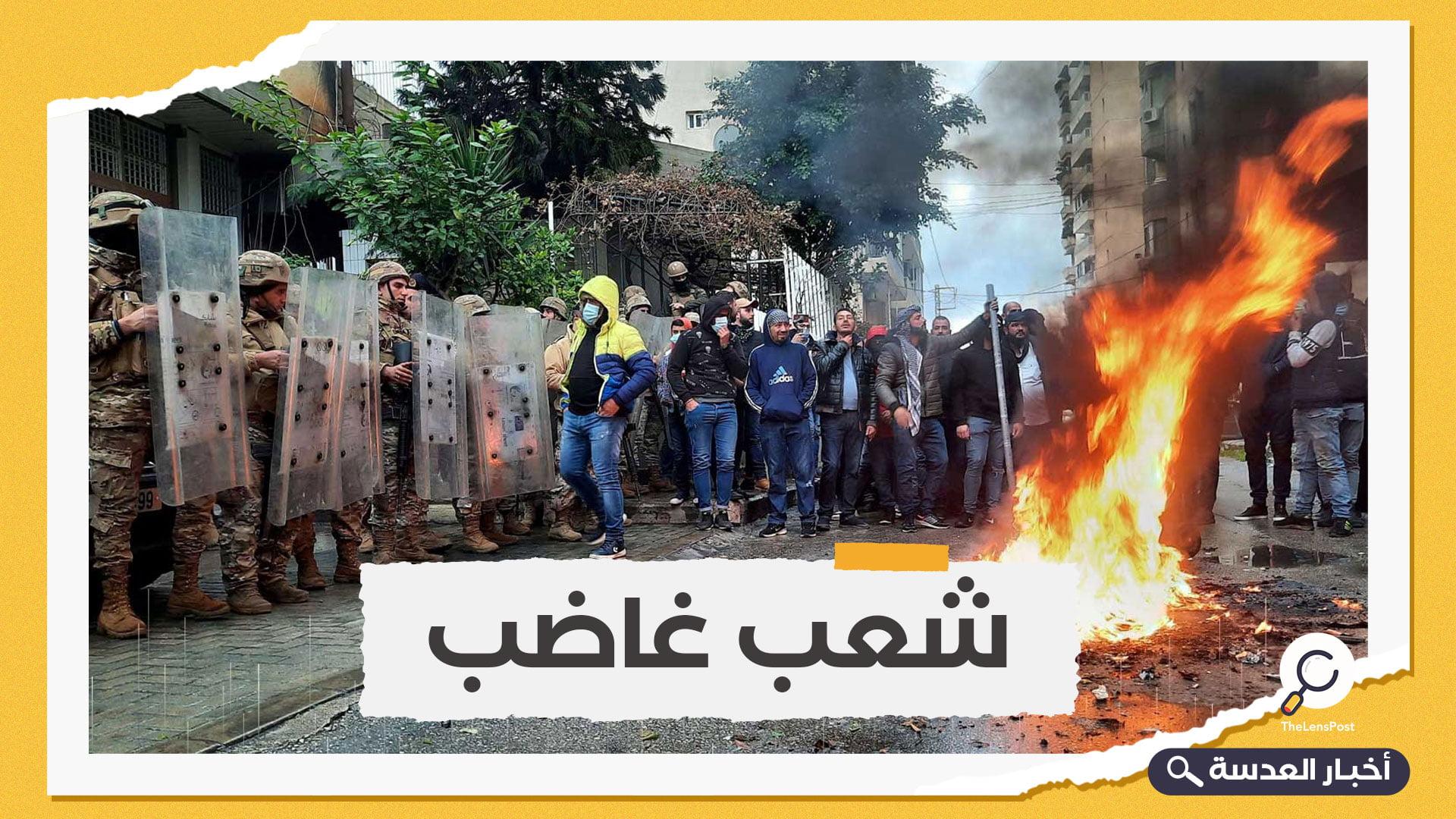 لبنان.. عقب اشتعال النار في مبنى بلدية طرابلس، الحريري ينتقد الجيش اللبناني