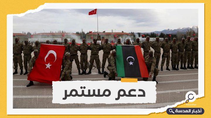 1000 عسكري ليبي يعودون إلى ليبيا بعد انتهاء تدريبهم في تركيا