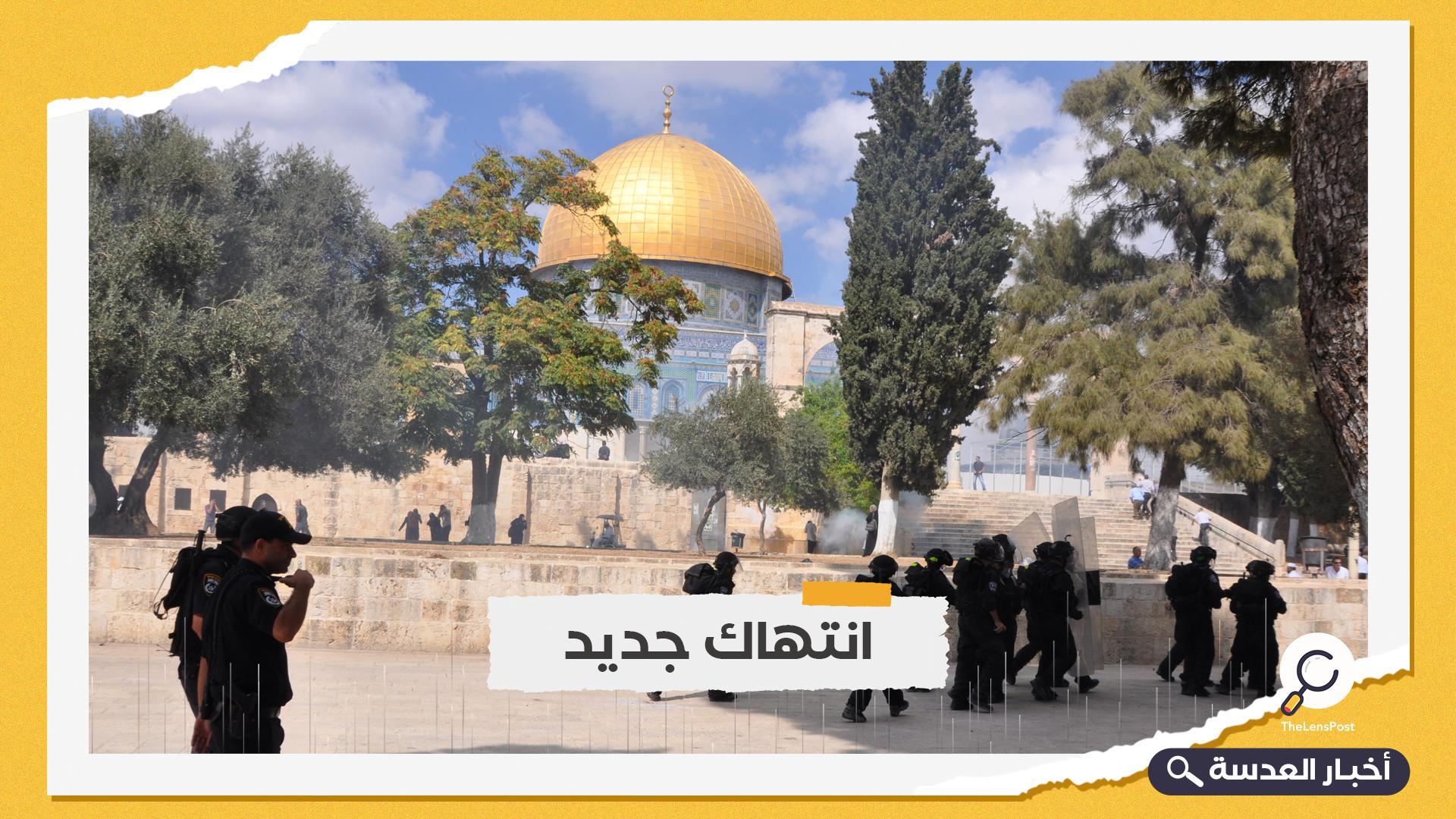فلسطين.. الاحتلال يوقف أعمال ترميم قبة الصخرة المشرفة