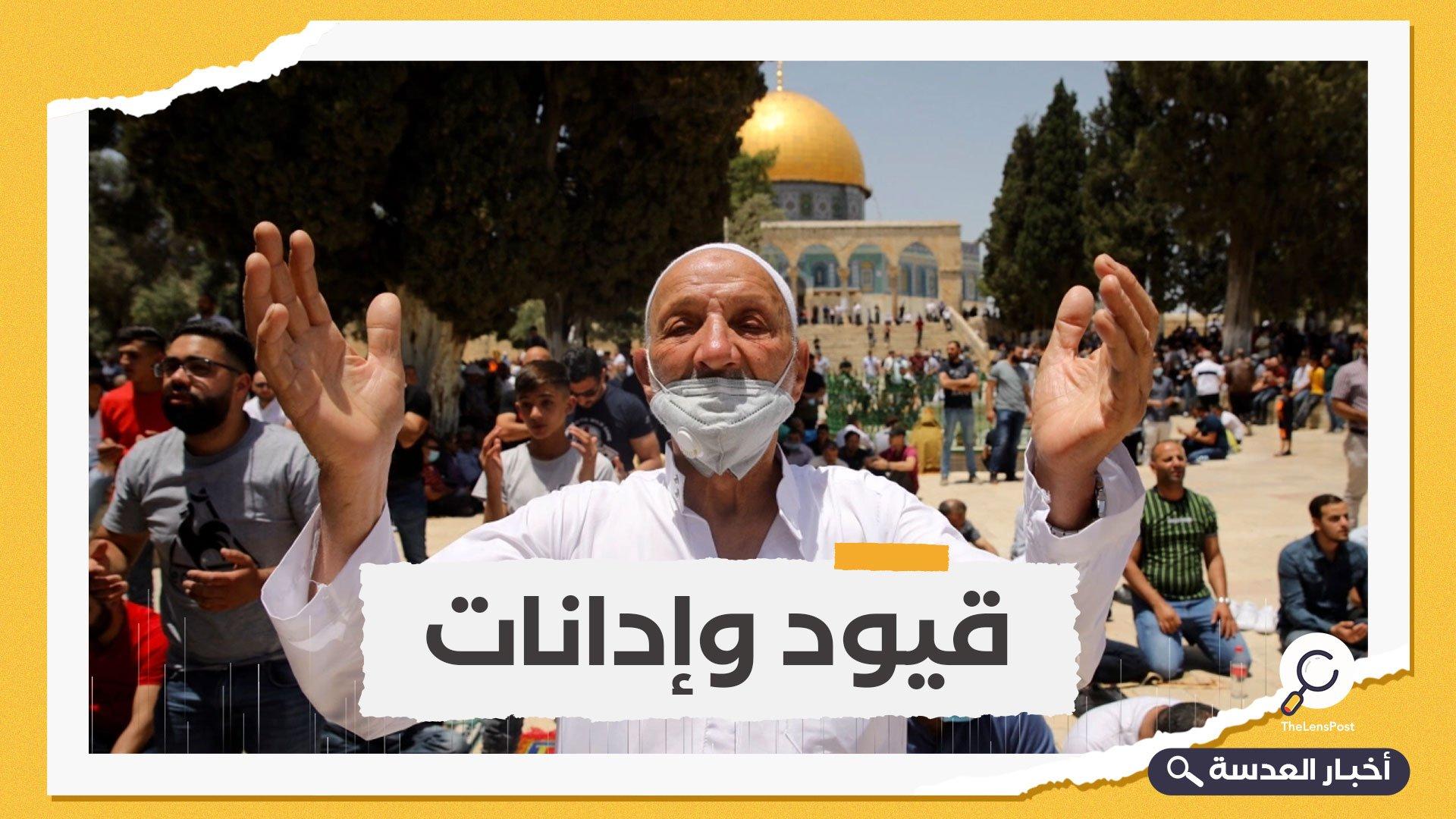 إسرائيل تسيس كورونا وتمنع آلاف الفلسطينيين من صلاة الجمعة بالأقصى